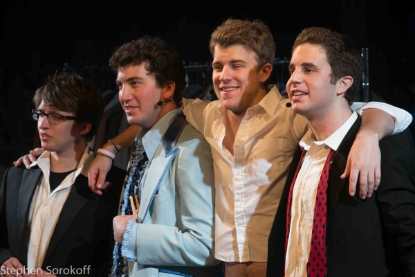 Will Roland, Harrison Chad, Jason Hite, Ben Platt at First Look at Barrington Stage Company's THE BLACK SUITS
