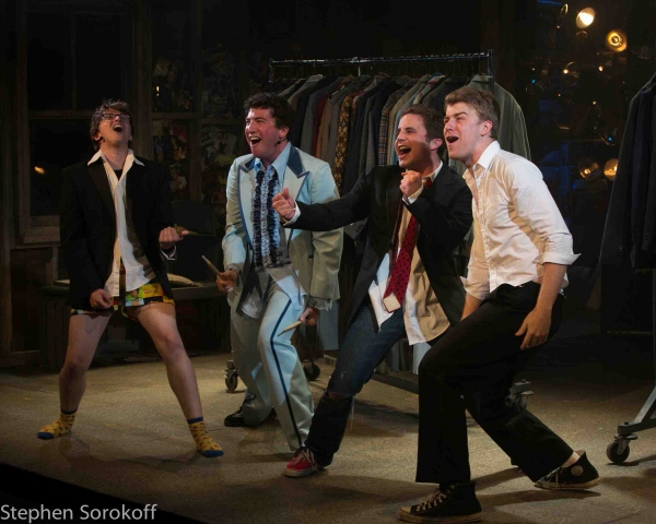 Will Roland, Harrison Chad, Brad Platt, Jason Hite at First Look at Barrington Stage Company's THE BLACK SUITS