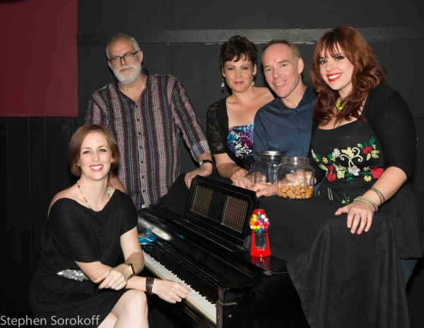 Carmel Dean, William Finn, Lisa Howard, Michael Winther, Alysha Umphress at Carmel Dean, Alysha Umphress and More at THE SWEET SONGS OF CARMEL DEAN at Mr. Finn's Cabaret