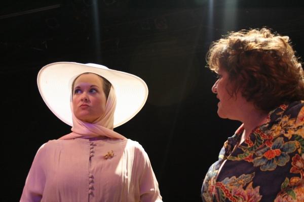 Kristie Ohlinger as Hannah Jelkes and Tricia Corcoran as Maxine Faulk     Photo