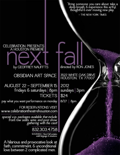 BWW Reviews: NEXT FALL - Stirring, Poignant & All Together Beautiful