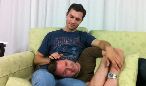 Zach Lewis as Luke & Brad Goertz as Adam.