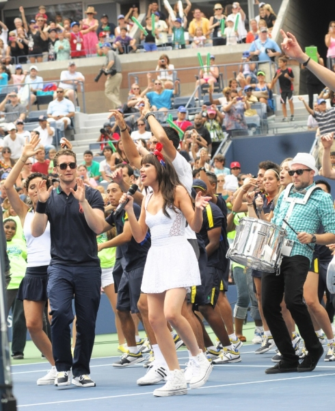 Photo Flash: Matthew Morrison, Carly Rae Jepsen Celebrate Arthur Ashe Kids' Day