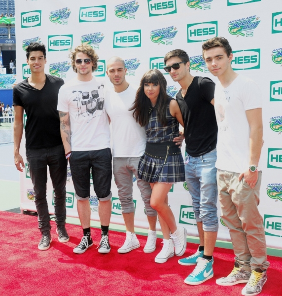 Carly Rae Jepsen, The Wanted at Matthew Morrison, Carly Rae Jepsen Celebrate Arthur Ashe Kids' Day