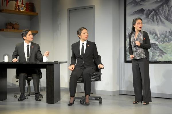 Austin Ku, Celeste Den and Vivian Chiu