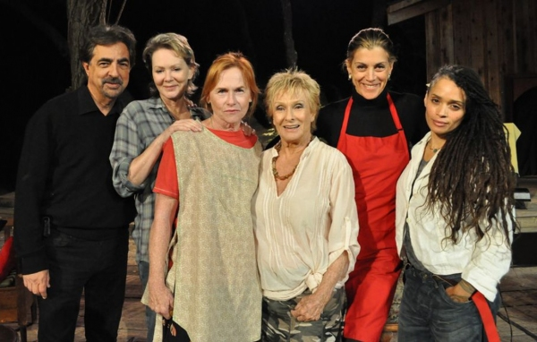 Joe Mantegna, Jean Smart, Amy Madigan, Cloris Leachman, Wendie Malick and Lisa Bonet  at Cloris Leachman, Amy Madigan and More at RECIPE Reading
