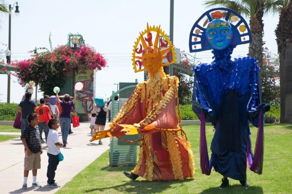 Photo Flash: Watts Village Theater Company Launches 2012 MEET ME @METRO Festival