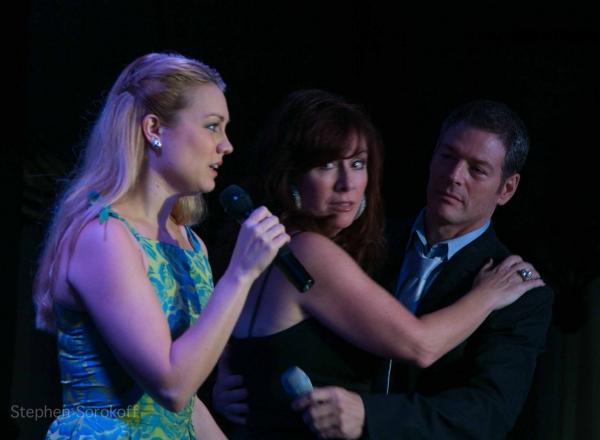 Ashley Kate Adams, Debbie Gravitte, Kevin Spirtas at Bryce Ryness, Kevin Spirtas, and More Bring LOVE SONGS to Feinstein's!