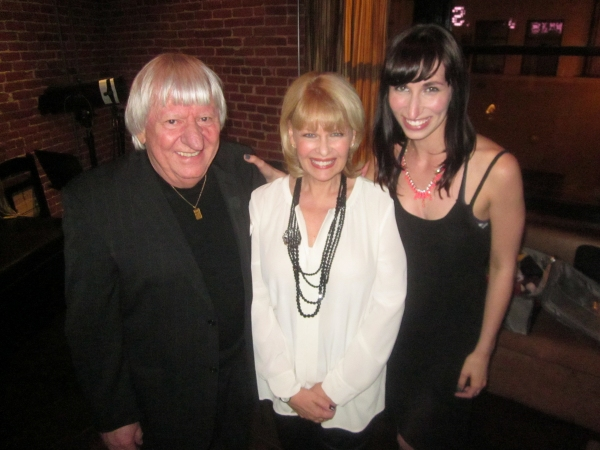 left to right: Ben Lazarone, Ilene Graff, Nikka Graff-Lazarone