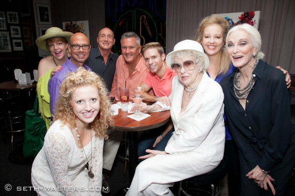 Elaine Stritch with Friends and Fans at Elaine Stritch and More at Jeff Harnar's DOES THIS MAKE ME LOOK FAT? at Birdland