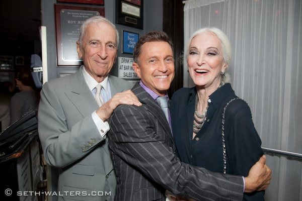 Gay Talese, Jeff Harnar, Carmen Dell'Orefice