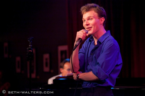 Photo Flash: Clint Holmes, Richard Rubin & More at Jim Caruso's Cast Party at Birdland, 8/27
