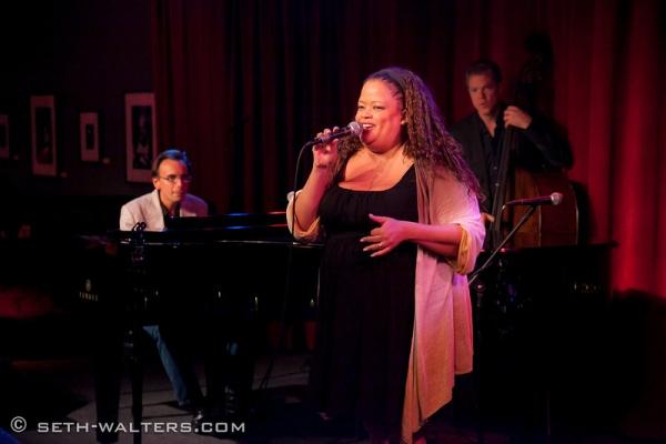 Natalie Douglas at Clint Holmes, Richard Rubin & More at Jim Caruso's Cast Party at Birdland, 8/27