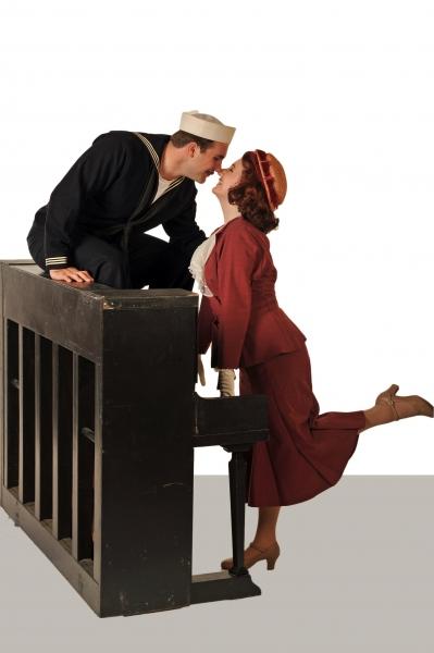 Daniel Hines and Jessica Reiner-Harris