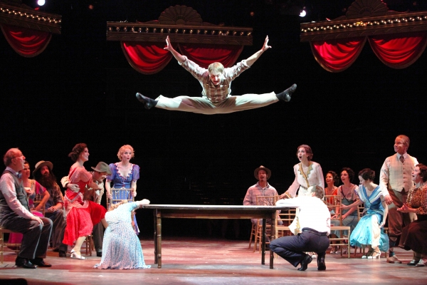 Photo Flash: First Look at Noah Racey and Anne Horak Onstage in Music Circus' CRAZY FOR YOU