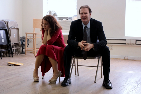 Michelle Clunie, Jeff LeBeau at In Rehearsal with Michelle Clunie for US!