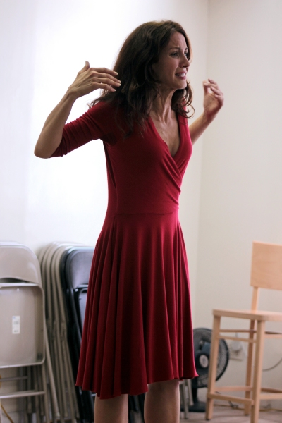 Photo Coverage: In Rehearsal with Michelle Clunie for US!
