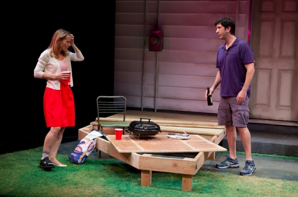 Photo Flash: David Schwimmer, Amy Ryan and More in Playwrights Horizons' DETROIT!
