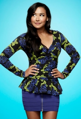 Naya Rivera at First Look - GLEE Season 4 Portraits