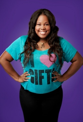 Amber Riley at First Look - GLEE Season 4 Portraits