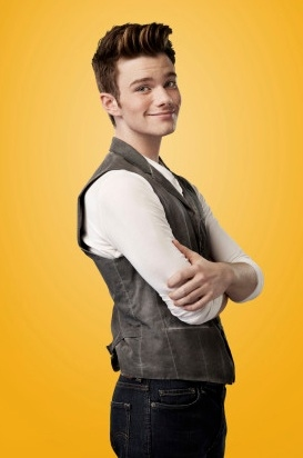 Chris Colfer at First Look - GLEE Season 4 Portraits