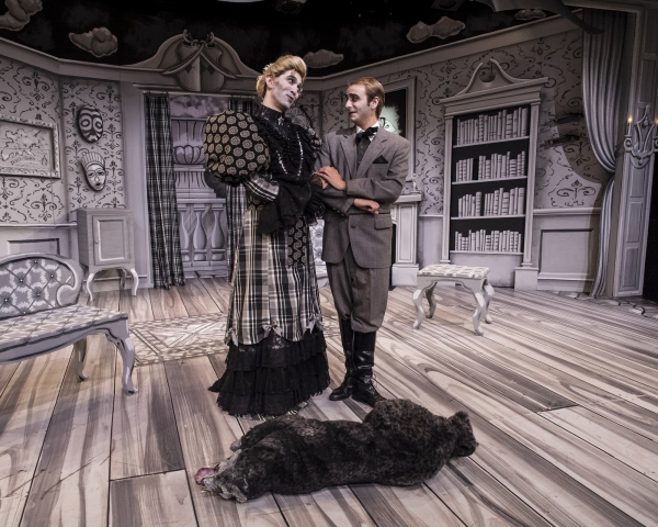 Photo Flash: First Look at John DeSilvestri and Christopher Scheer in CRT's THE MYSTERY OF IRMA VEP