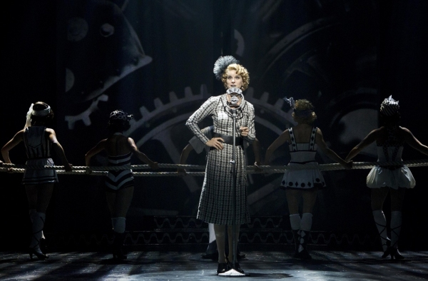 Photo Flash: First Look at Rob McClure, Jenn Colella, Erin Mackey, and More in CHAPLIN- Production Shots!