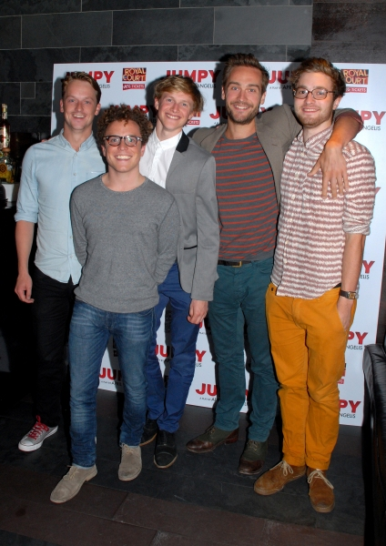 Tom Mison, Joshua Mcguire, Edward Killingback, Jolyon Coy and Harry Lister-Smith
