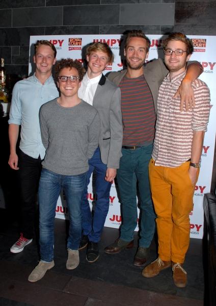 Tom Mison, Joshua Mcguire, Edward Killingback, Jolyon Coy and Harry Lister-Smith Photo