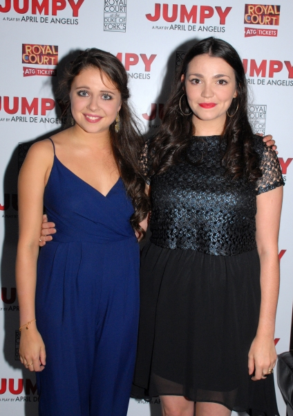Bel Powley-Tilly and Seline Hizli-Lyndsey
