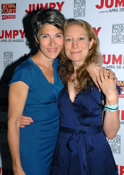 Tamsin Greig-Hilary and Nina Raine, Director