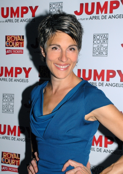 Photo Flash: Tamsin Greig and More at JUMPY Opening Night Party at Duke of York's Theatre!
