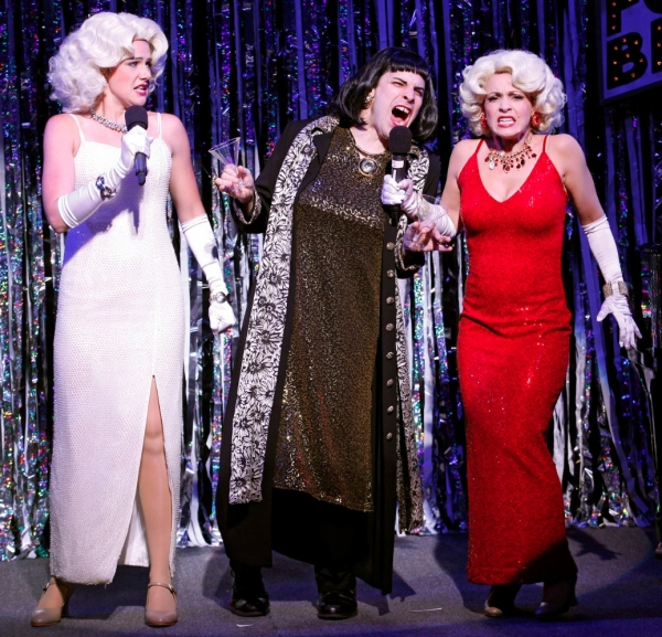 Photo Flash: First Look at FORBIDDEN BROADWAY: ALIVE AND KICKING- Production Shots!