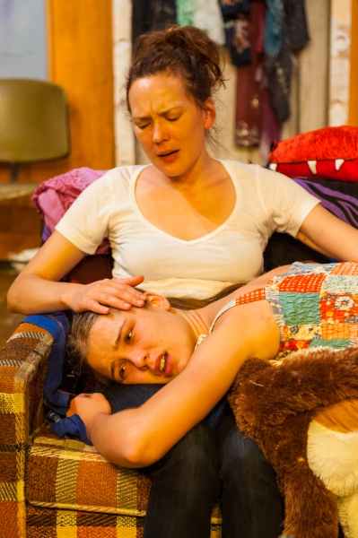 Sarah Lemp and Katie Broad as Dear and Dawn