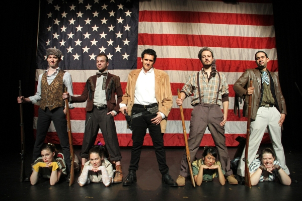 Photo Flash: First Look at Phoenix Theatre's BLOODY, BLOODY ANDREW JACKSON