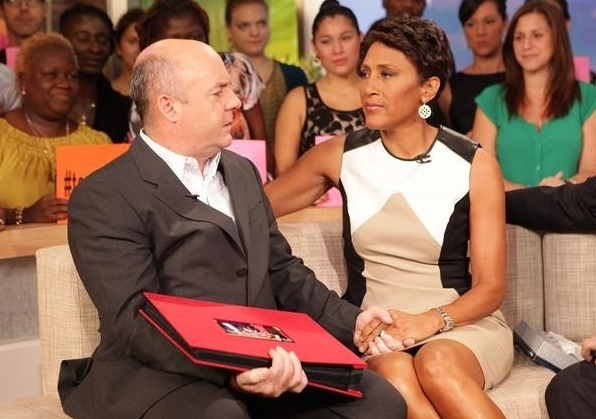Senior Executive Producer Tom Cibrowski, Robin Roberts
