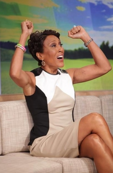 Robin Roberts at Robin Roberts Makes Final GMA Appearance