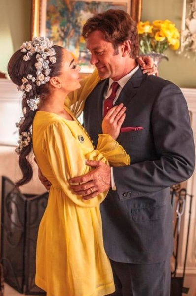 Lindsay Lohan, Grant Bowler at New Images From Lifetime's LIZ & DICK