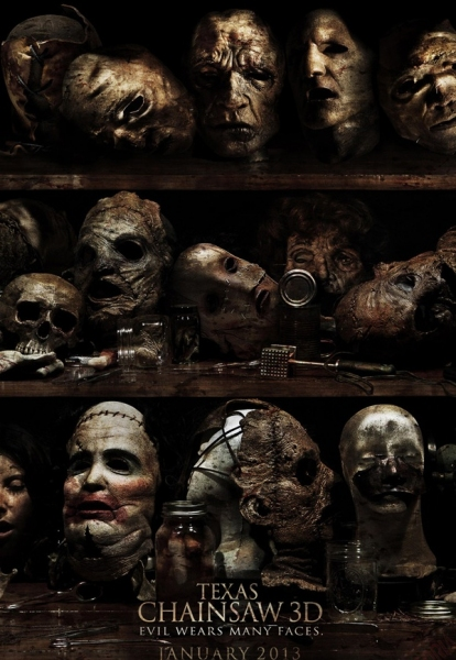 Photo Flash: Poster Revealed for Lionsgate's TEXAS CHAINSAW 3D