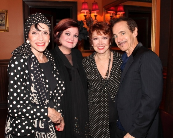 Faith Prince, Jason Graae, Liliane Montevecchi, and Donna McKechnie at Elaine Stritch, Faith Prince, Tonya Pinkins and More at 54 Below!