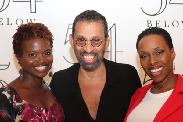 La Chanze, Maurice Hines, and Brenda Braxton at Elaine Stritch, Faith Prince, Tonya Pinkins and More at 54 Below!