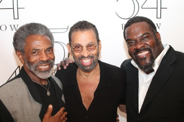 Andre De Shields, Maurice Hines, and Philip Boykin