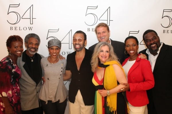 La Chanze, Andre De Shields, Nona Hendryx, Maurice Hines, Julie Budd, Jeff Calhoun, Brenda Braxton, and Phillip Boykin at Elaine Stritch, Faith Prince, Tonya Pinkins and More at 54 Below!