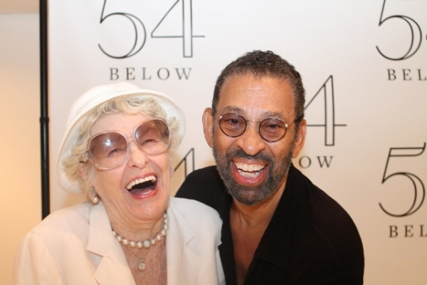 Elaine Stritch and Maurice Hines at Elaine Stritch, Faith Prince, Tonya Pinkins and More at 54 Below!