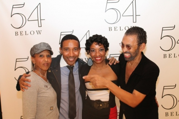 Nona Hendryx, Charles Randolph-Wright, Adriane Lenox, and Maurice Hines at Elaine Stritch, Faith Prince, Tonya Pinkins and More at 54 Below!