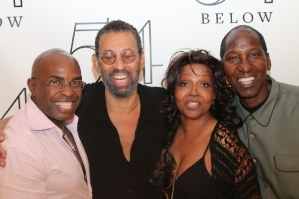 Stanley Wayne Mathis, Maurice Hines, Lynnie Godfrey, and Mel Johnson Jr.