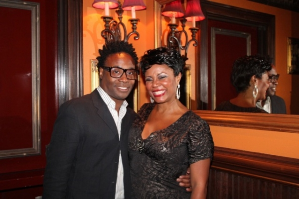 Billy Porter and Tonya Pinkins at Elaine Stritch, Faith Prince, Tonya Pinkins and More at 54 Below!