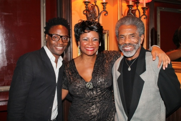 Billy Porter, Tonya Pinkins, and Andre De Shields at Elaine Stritch, Faith Prince, Tonya Pinkins and More at 54 Below!