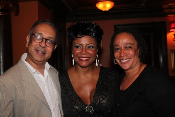 George C. Wolfe, Tonya Pinkins, and S. Epatha Merkerson at Elaine Stritch, Faith Prince, Tonya Pinkins and More at 54 Below!
