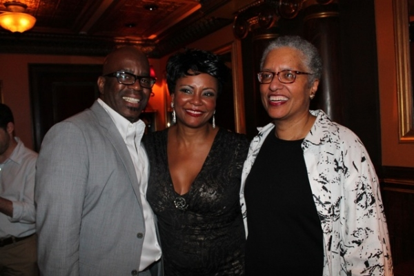 Ken Roberson, Tonya Pinkins, and Linda Twine Photo